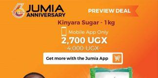 jumia anniversary sugar